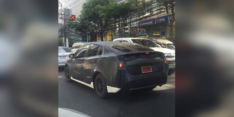 2016 Toyota Prius spotted in Thailand