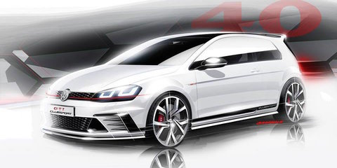 Volkswagen Golf GTI : 214kW Clubsport concept previews 40th anniversary edition