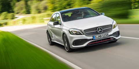 Mercedes-Benz 'EQA' hatch heading to Frankfurt - report