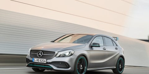 2015 Mercedes-AMG A45 ups the ante in four-cylinder power war - UPDATE