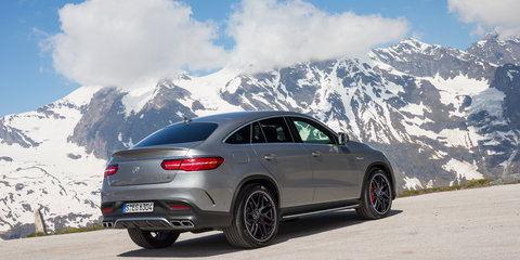 Mercedes-Benz GLE Coupe pricing and specifications