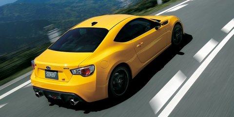 2015 Subaru BRZ tS limited edition goes Sunrise Yellow