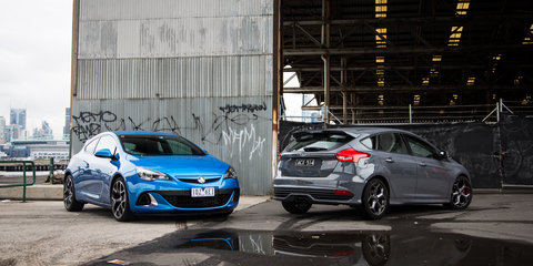 Ford Focus ST v Holden Astra VXR: Comparison Review