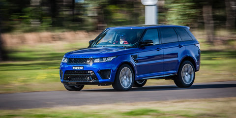 2015 Range Rover Sport SVR pricing and specifications