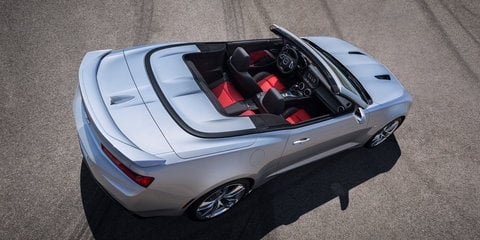 2016 Chevrolet Camaro convertible officially revealed