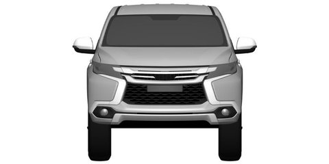 2016 Mitsubishi Challenger revealed in patent images