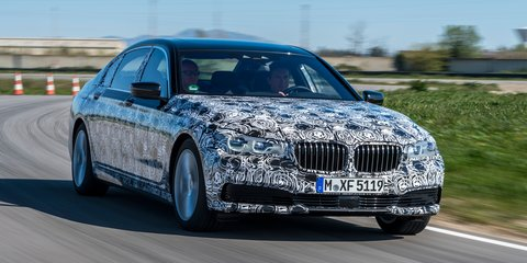 2016 BMW 7 Series teased, full reveal on June 10