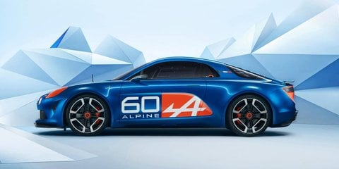 Alpine Celebration concept car revealed at Le Mans