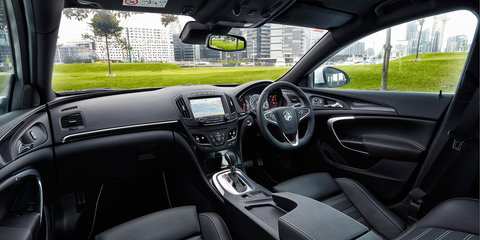2015 Holden Insignia VXR debuts next-gen MyLink infotainment system, other brand firsts