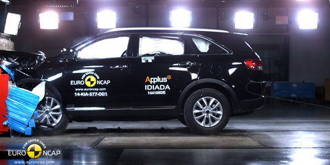 2015 Kia Sorento nets one of ANCAP's highest scores to date