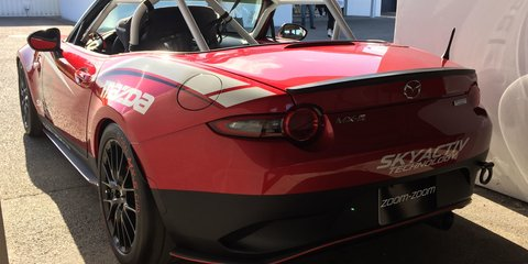 Mazda Global MX-5 Cup racer a possibility for Australia