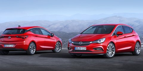 2016 Opel Astra GSi spied testing in final form