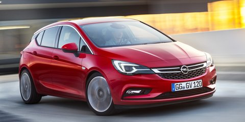 2016 Opel Astra unveiled ahead of Frankfurt debut