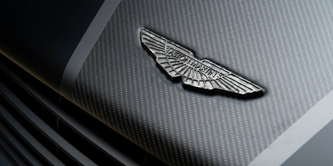 Aston Martin Vanquish One of Seven features smooth-finish exposed carbonfibre body