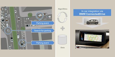 BMW working on street parking prediction software