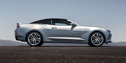 2016 Chevrolet Camaro convertible leaked online