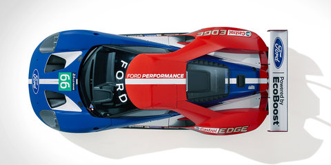Ford GT will enter 2016 24 Hours of Le Mans race