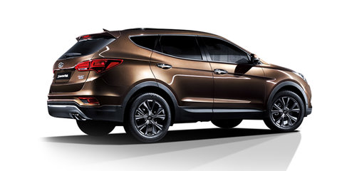 Hyundai Santa Fe facelift unveiled in Korea