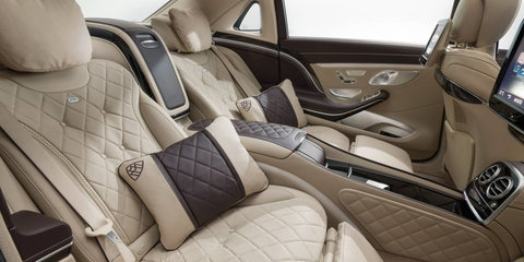 Mercedes-Maybach rolling out the door in China