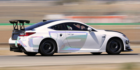 Lexus RC F GT Concept will tackle 2015 Pikes Peak Hill Climb