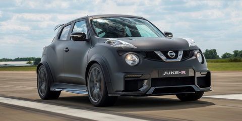 Nissan Juke R 2.0 unveiled with GT-R Nismo engine