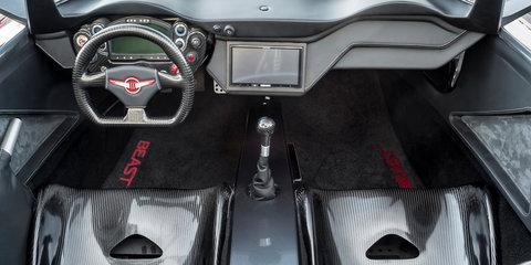 Rezvani Beast revealed with 373kW engine, 750kg weight