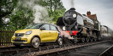 Smart ForRail runs successfully on vintage railway line