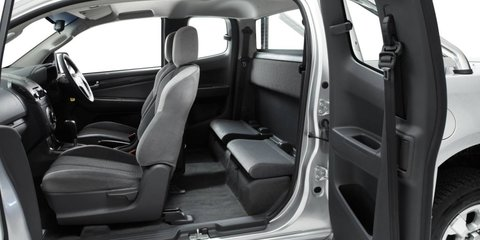 Holden Colorado Space Cab recalled for rear seatbelt fix