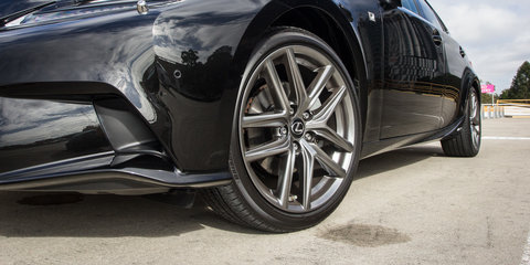 Toyota Camry Hybrid Atara SL v Honda Accord Sport Hybrid v Lexus IS300h F Sport : Hybrid sedan comparison