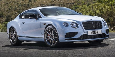 2016 Bentley Continental GT pricing and specifications