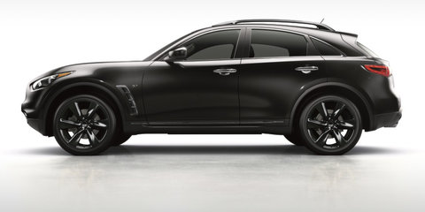 2016 Infiniti QX70 S Design pricing and specifications: New special-edition SUV hits Australia