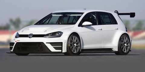Volkswagen Golf TCR racing prototype revealed, 2016 launch planned