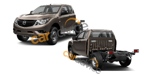 2016 Mazda BT-50 revealed in patent images