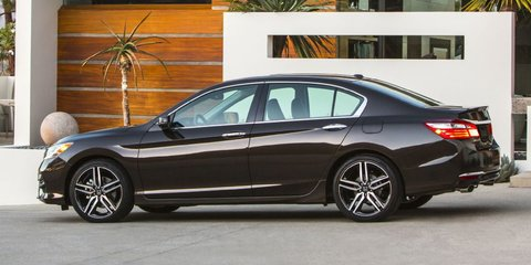 2016 Honda Accord revealed with new looks, new tech: Apple Carplay, Android Auto on-board - UPDATE