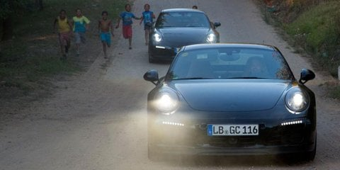 2016 Porsche 911 '991.2' range previewed with new official shots