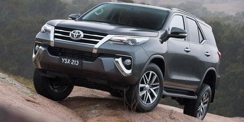 2016 Toyota Fortuner revealed in Sydney ahead of Australian debut