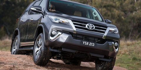 2016 Toyota Fortuner revealed in Sydney ahead of Australian debut