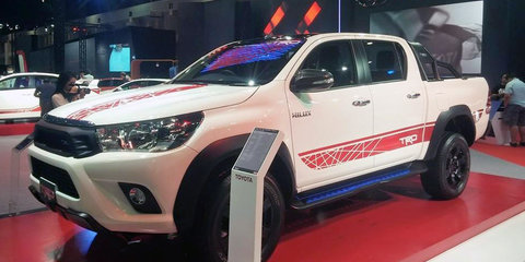 Toyota HiLux TRD Prototype revealed: new Wildtrak rival debuts in Thailand - UPDATE
