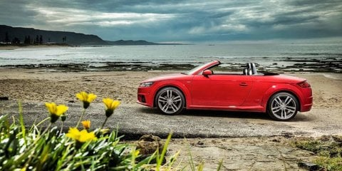 2016 Audi TT Roadster pricing and specifications