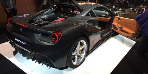 Ferrari 488 GTB debuts in Australia with sharper $469,888 price tag