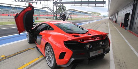 McLaren 675LT launches at Silverstone