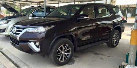 2016 Toyota Fortuner without disguise - UPDATE