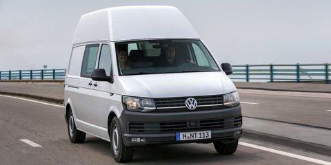 2016 Volkswagen T6 Transporter, Caravelle and Multivan models: first details