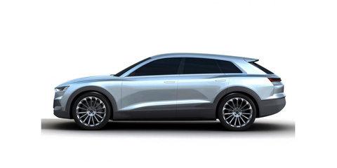 Audi Q6 EV concept leaked online