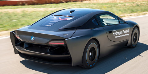 BMW hydrogen fuel cell prototypes revealed