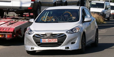 Hyundai i30 N Series spy photos