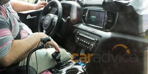 2016 Kia Sportage spy photos reveal interior