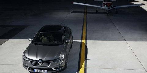 Renault Talisman unveiled, Australian launch ruled out - UPDATE