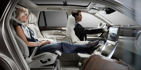Volvo 'Lounge Console' becomes luxury baby transport with new concept