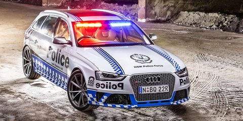 Audi RS4: 331kW performance wagon joins NSW police force